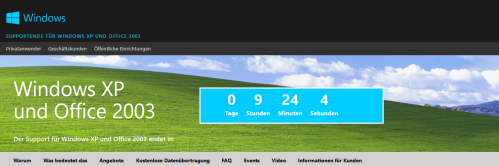 Screenshot: Countdown