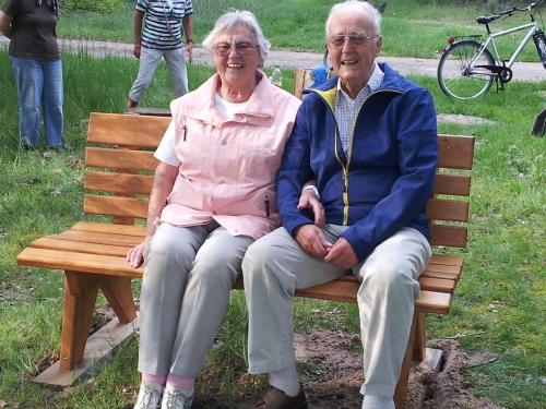 Renate Andersen mit ihrem Mann Eberhardt