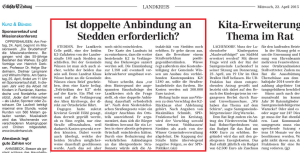 Screenshot, Quelle: Cellesche Zeitung