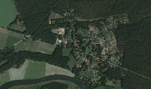 Screenshot: Google Maps/Earth - Stedden von oben