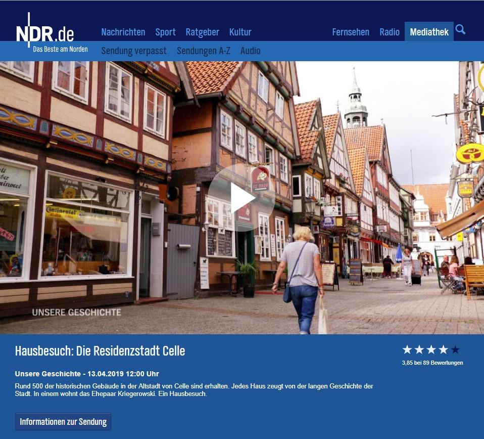 Hausbesuch - Die Residenzstadt Celle